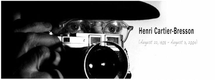 Vader van de fotojournalistiek #henricartierbresson #geek