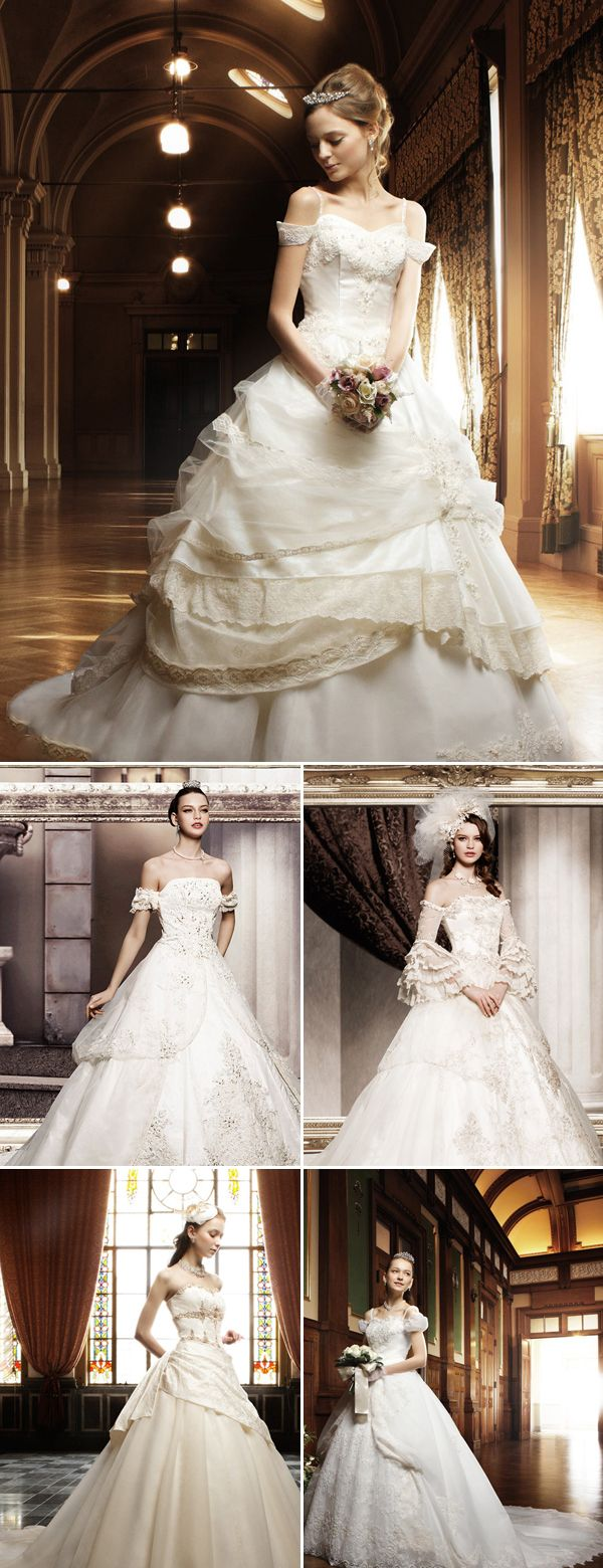 39 Classic Princess Wedding Dresses - Takami-Bridal