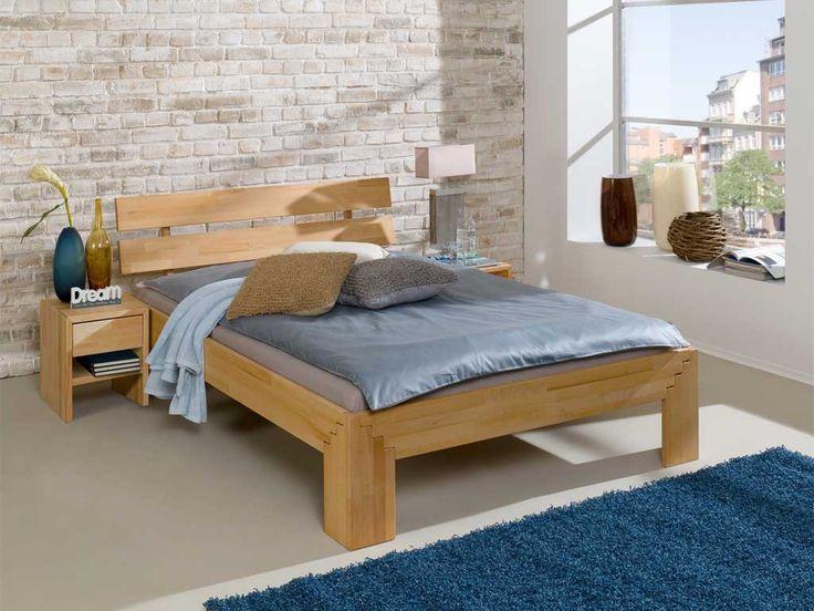 Łóżko drewniane bukowe cleo IV 180