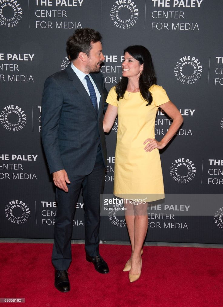 Jimmy Fallon and Maureen Reidy attend an evening with 'The Tonight Show starring Jimmy Fallon' at The Paley Center for Media on June 7, 2017 in New York City.