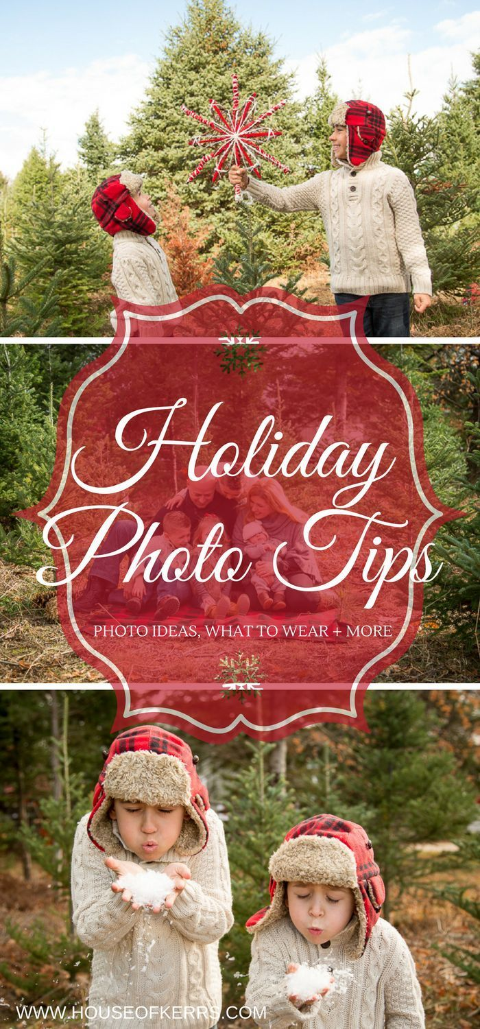 Holiday Photo Shoot Tips Poses What to wear Christmas photos, family holiday fashion, coordinate your photo shoot, holiday mini sessions, holiday ootd, Christmas ootd Photo credit Liisa Sefton Images & Lace Photography