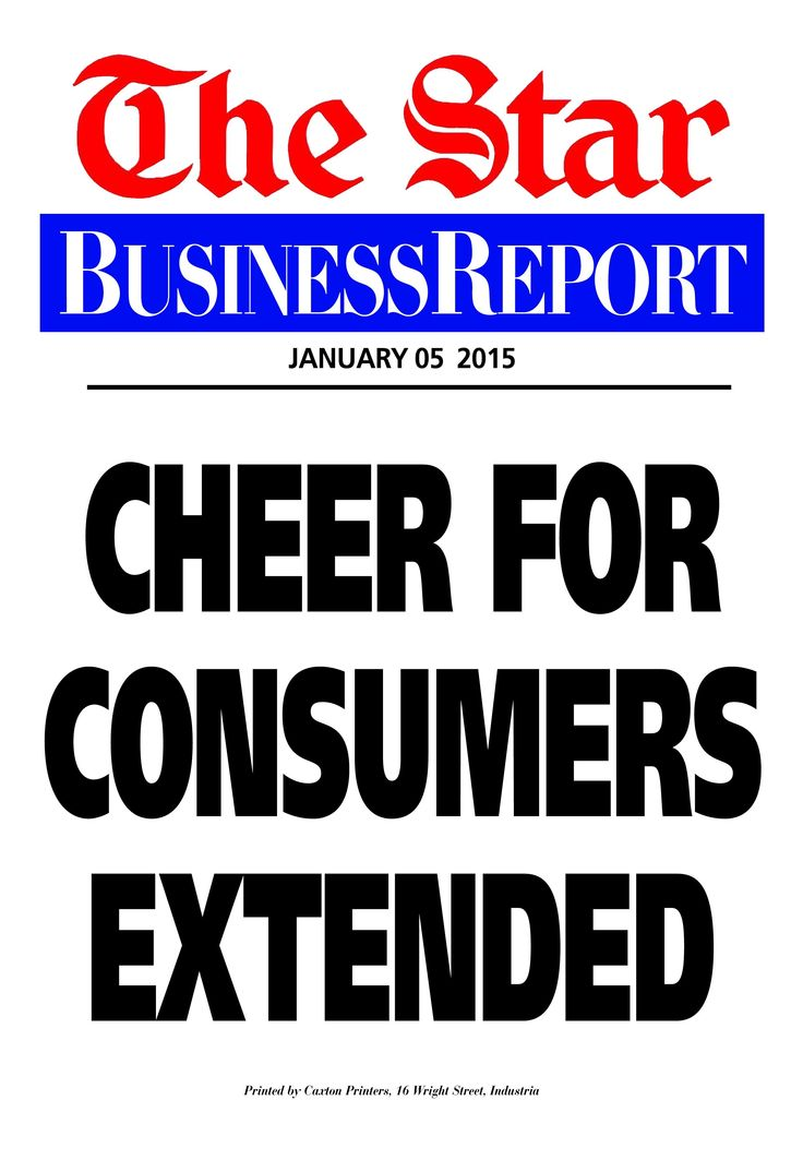 Today's Business Report newspaper street poster (January 5, 2015) deals with the drop in the petrol price and the positive economic effects of that decline.  To read this story click here: http://www.iol.co.za/business/news/petrol-price-fall-extends-the-cheer-1.1801280#.VKppqyLI3Mo