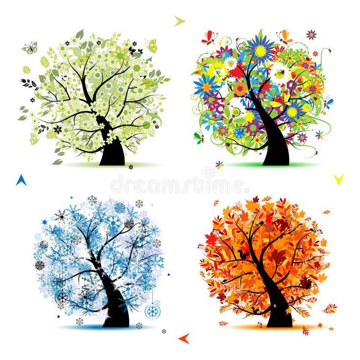 Les 54 meilleures images du tableau quatre saisons sur pinterest quatre saisons saisons de l - Saisons de l annee ...