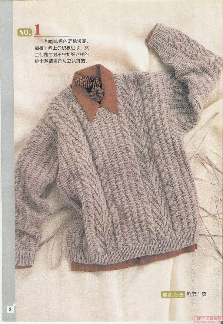 Рука площадь - экземпляр Мужская свитер вязание - Сисси-си - блог Сисси-Си