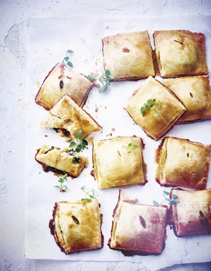 Chaussons aux légumes et au fromage pour 4 personnes - Recettes Elle à Table