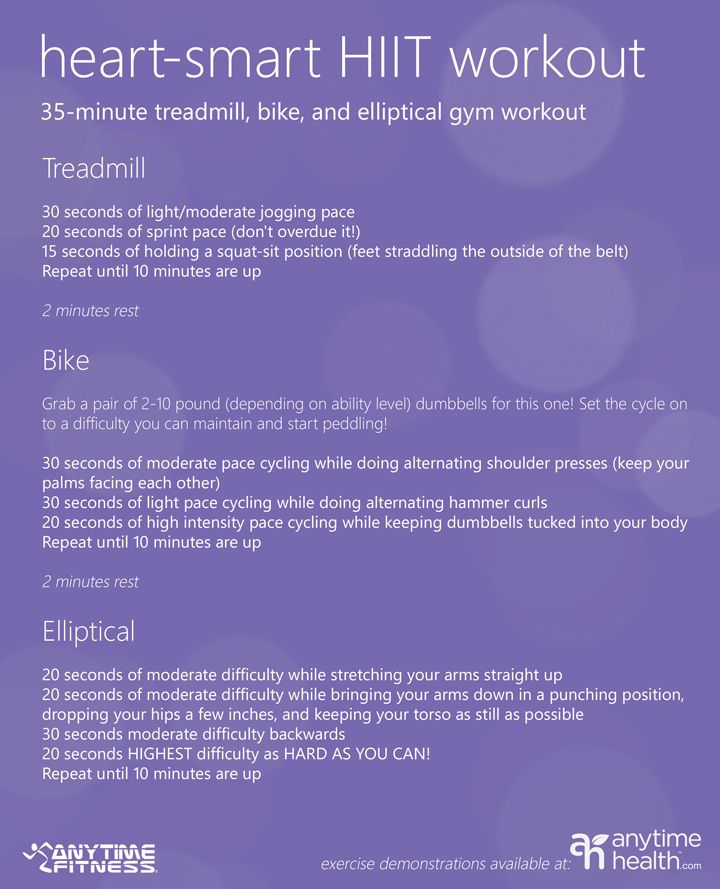 35 minutes isn't a lot but it's enough to burn calories like a boss. Try this HIIT workout next time you're at the gym!