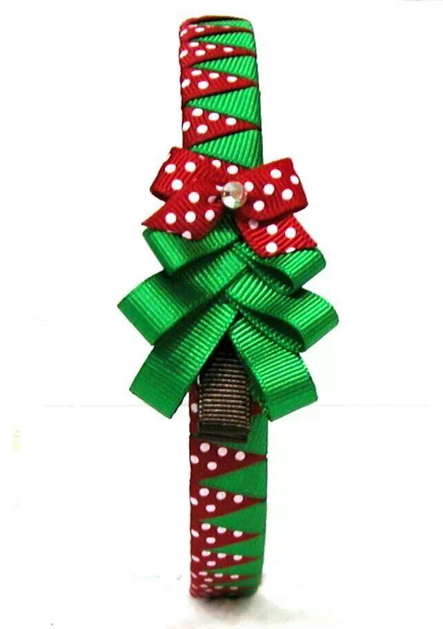 Christmas headband - cerchietto natalizio