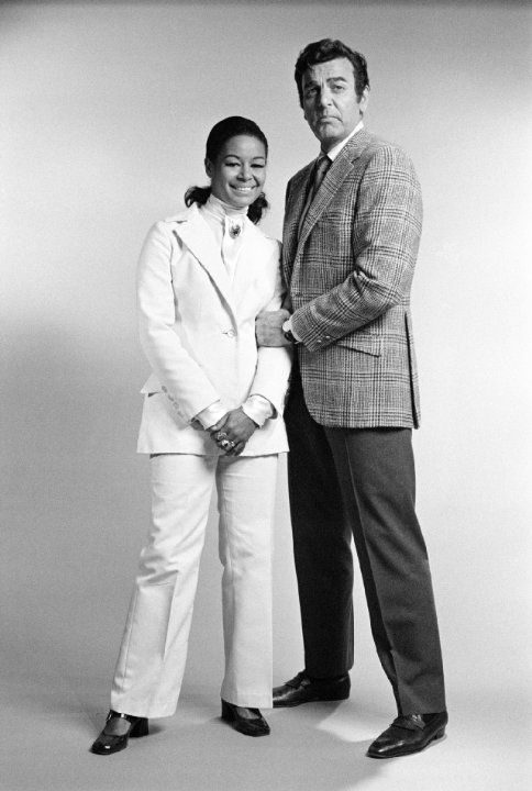 Still of Mike Connors and Gail Fisher in Mannix (1967)