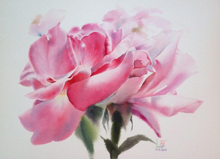 Watercolor by Sattha Homsawat (LaFe)