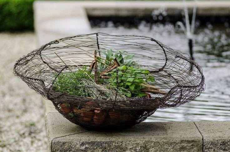 Kräuterkorb Blumenwerk Annette Kamping