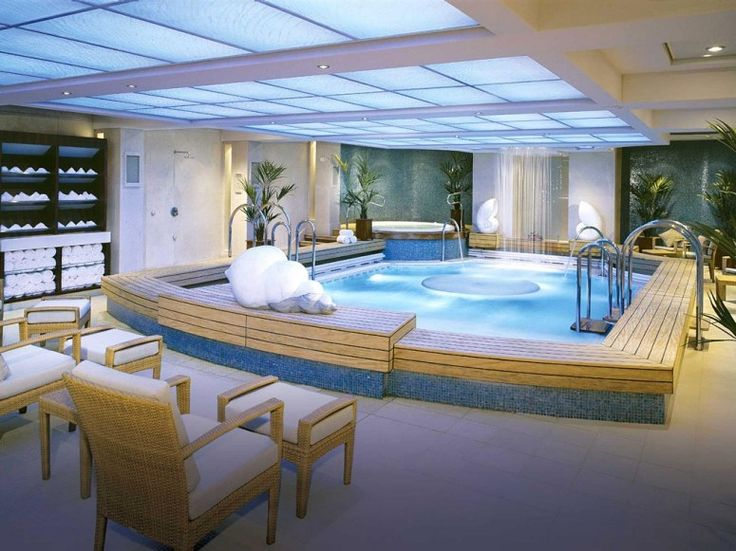 TOP 25 CRUISE SHIP SPAS  # 12.  QUEEN MARY 2    Overall Score: 90.0  Treatments: 89.5  Staff: 89.0  Facilities: 91.5    Treatment Rooms: 24  Basic Massage: $138