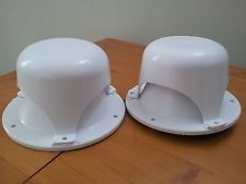 2 Roof Vent Caps for Rv, Motorhome, Campers or Trailer  Replacement.