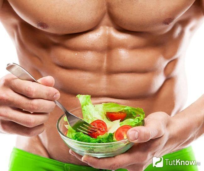 Сушка тела: меню и особенности питания