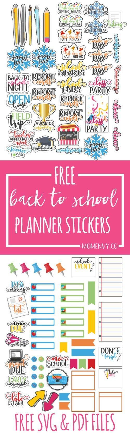 2081 best FREE Planner Stickers and Organizers images on ...