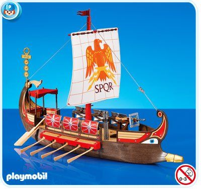 playmobil set 7512 roman galley ship playmobil 753 bc. Black Bedroom Furniture Sets. Home Design Ideas