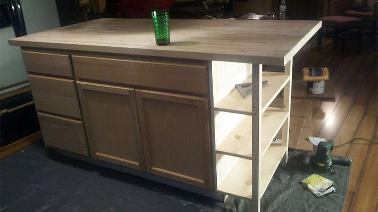 17 meilleures id es propos de fabriquer un ilot central - Fabriquer un ilot de cuisine en bois ...
