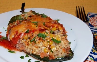 ... Vegetables on Pinterest | Spinach, Red peppers and Stuffed peppers