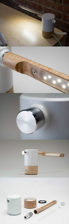 COOL CANTILEVERED LIGHTING... Read more at Yanko Design
