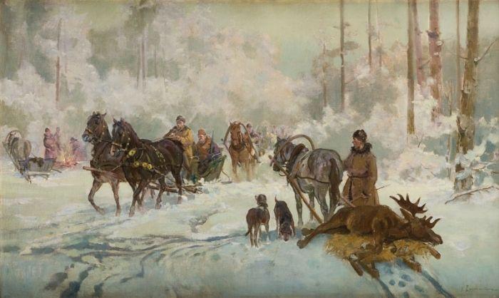 Ignacy Zygmuntowicz - Na polowaniu