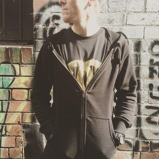 """Gold foiling? Yeah we do!  #silkscreen #screenprint #gold #goldfoil #hoodies #jumpers #tees #shirts #tshirts #urbanwear #streetwear #custom"""