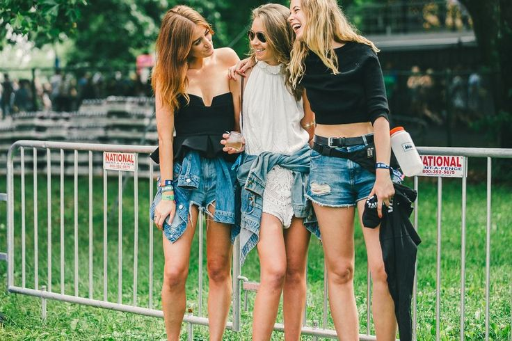 Denim Crew at Governors Ball // #style http://www.racked.com/2015/6/8/8745687/governors-ball-2015#4762782