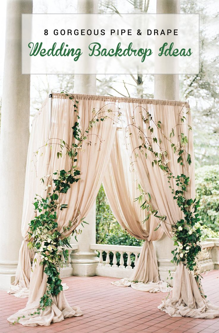 wedding backdrops wholesale and for drape backdrop curtains drapes rk pin pipe weddings diy pvc