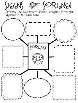 Signs of Spring. This is a great activity to do with students at the beginning of spring time. This activity asks the teacher to take their students out on a nature walk to see the new signs of spring. The students would then come inside to write all of their findings on a graphic organizer before writing a story about spring. This activity can used in kindergarten and up.