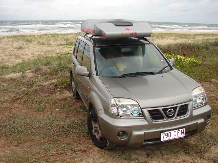 Kimberley Mycube on Nissan X Trail