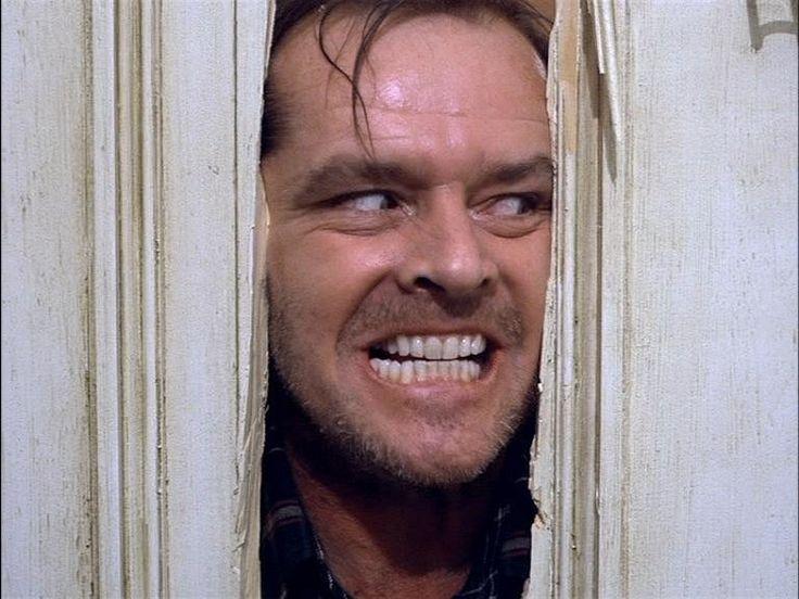 ¡Here´s Jonnye! - Jack Nicholson in The Shaning