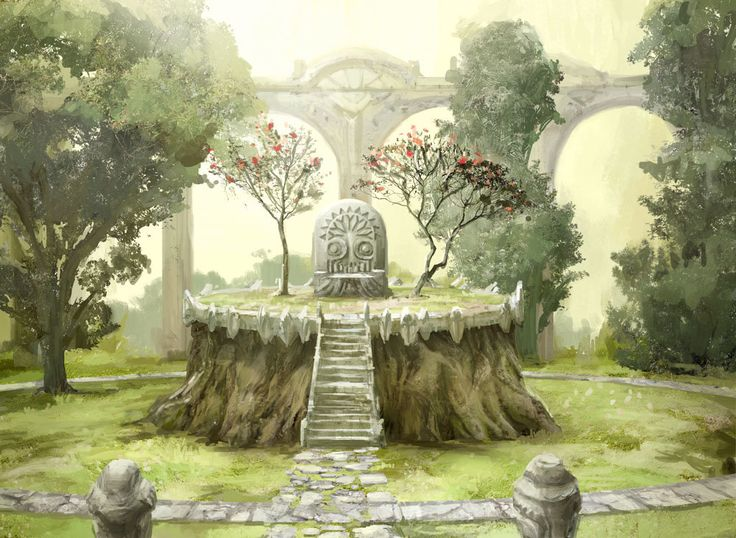 ArtStation - Guardian of the Grove, Yeong Hao Han