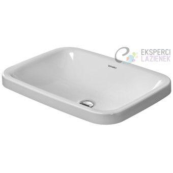 Umywalka wpuszczana w blat 60x43cm DuraStyle Duravit 0372600000