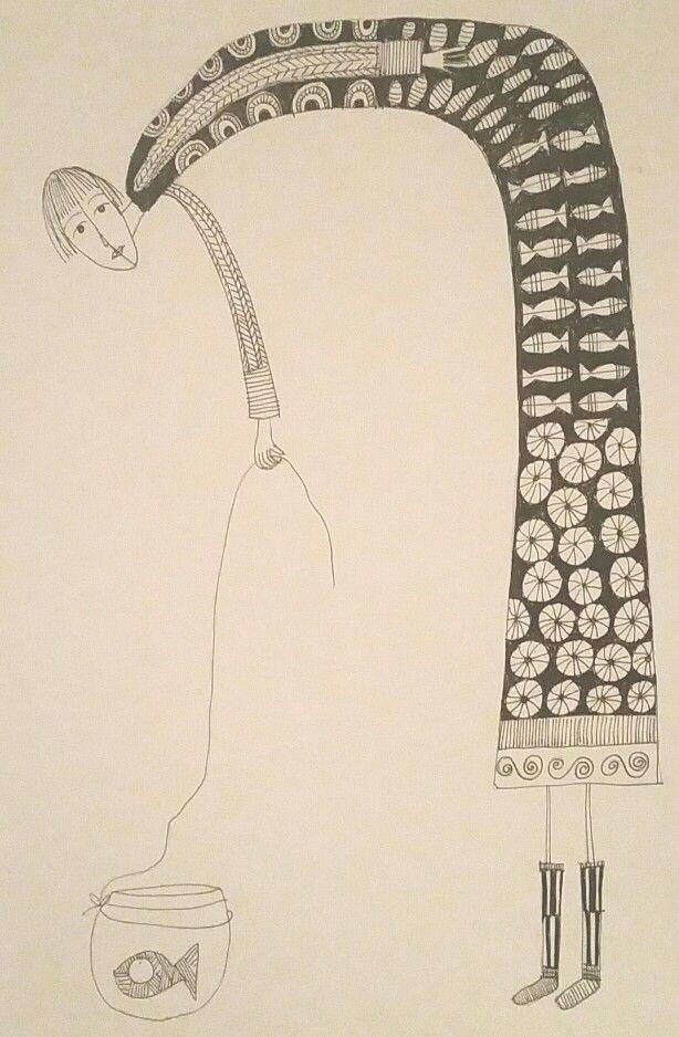 Illustration made by Bente Sandtorv