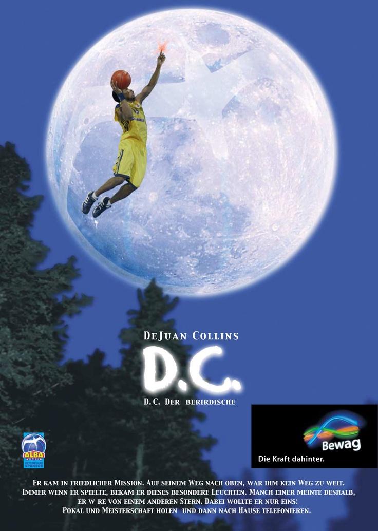 D.C. der Außerirdisch - DeJuan Collins (Basketball ALBA BERLIN)