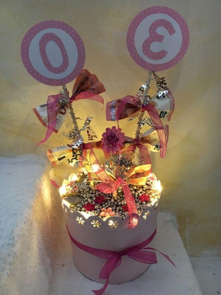 Geldgeschenke Zum 30 30 Geburtstag Geschenk Geschenke Zum 30 Geschenke Basteln