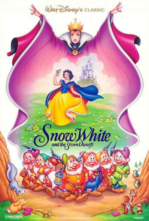 disney movie posters | Disney Princess Favorite Snow White movie poster?