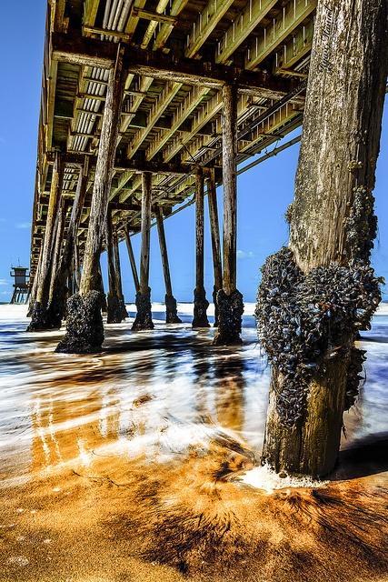 Imperial Beach, Portwood Pier, San Diego, California