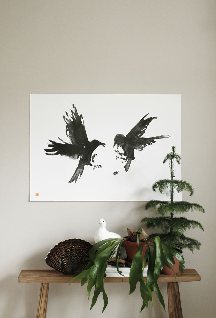 For every Tribute serie poster sold Teemu Järvi Illustrations will donate 5€ for nature conservation. Raging Ravens poster supports Finnish Natural Heritage Foundation. http://www.teemujarvi.com/en/shop/products/92-raging-ravens.html