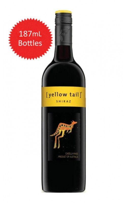 Yellow Tail Shiraz 187 ML 2014 South Eastern Australia - 24 Pack At $95.76