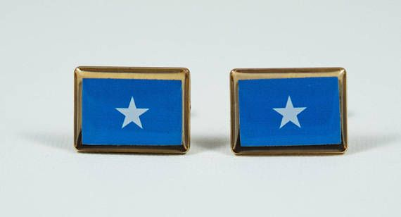 Somalia Flag Cufflinks