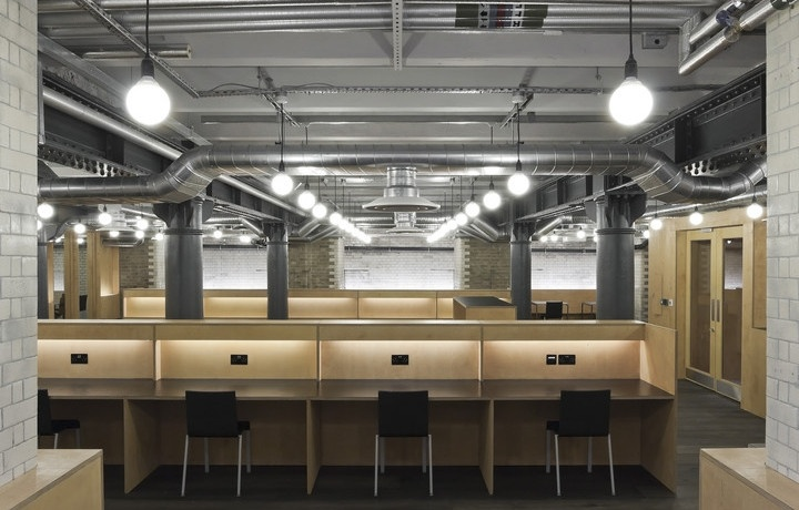 Coworking Space - Club Workspace - Clerkenwell Workshops, London, England: Clerkenwell Workshops, Networking Spaces, Google Search, Coworking Desk Inspiration, Coworking Spaces, Clubworkspace, Shared Offices, Club Workspace