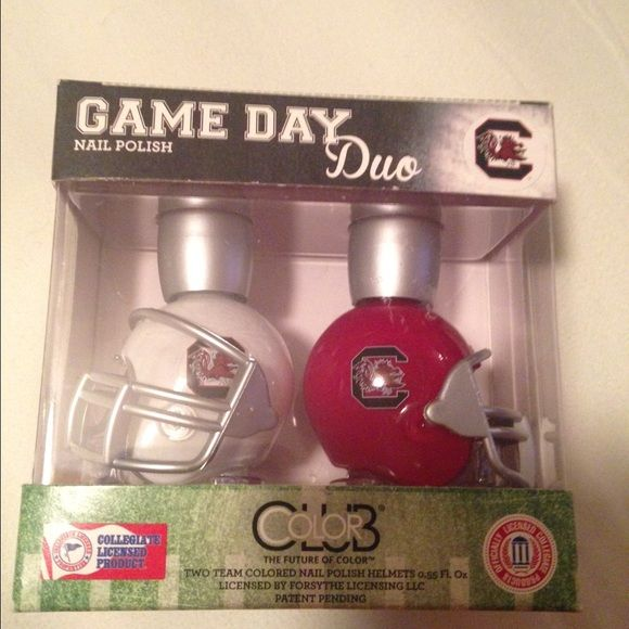 South Carolina Gamecock Game Day Duo Nail Polish South Carolina Gamecock Game Day Duo Nail Polish. Collegiate Licensed Product Other