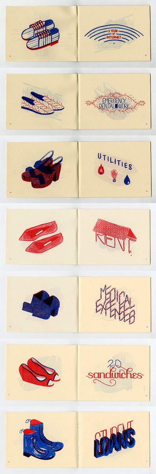 Shoes over Bills zine by Hannah K. Lee