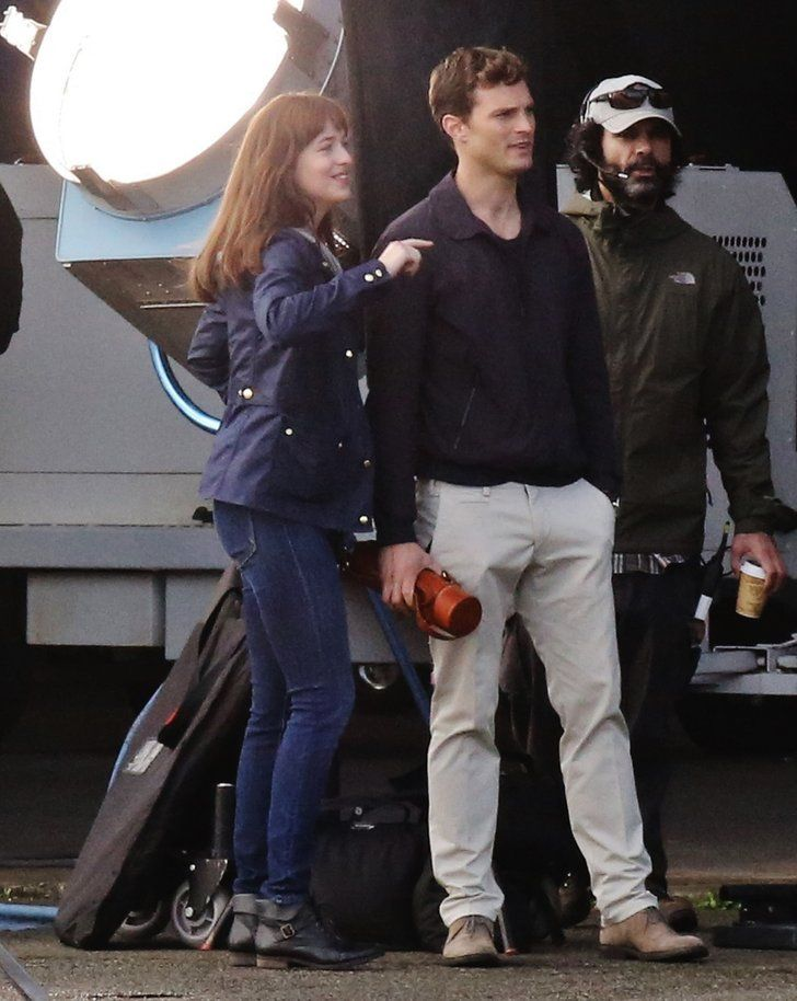 50 Shades Grey Movie Set Photos | The Fifty Shades of Grey Reshoots Now Include Sexy Makeouts | POPSUGAR Entertainment Photo 8