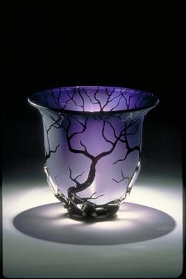 The Amethyst Root Vessel by Bernard Katz. The Tree & Root Series. http://bernardkatz.com/