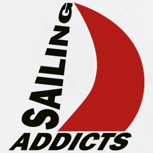 size   black logo Sailing Addicts TM