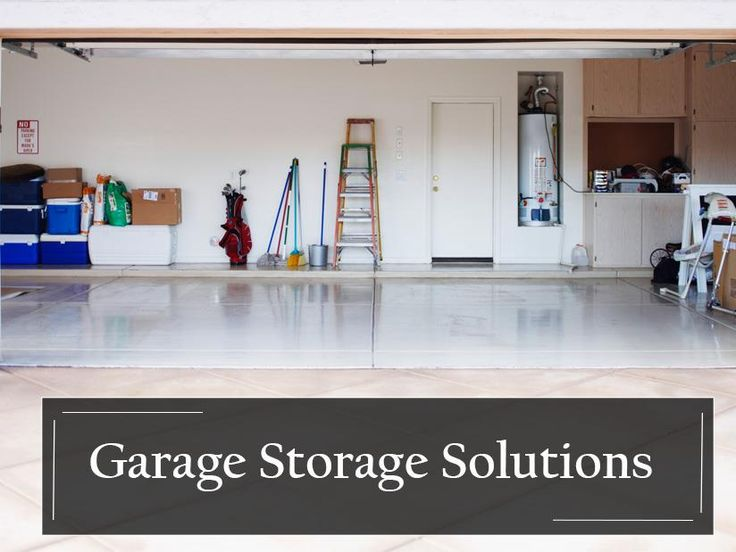 It's an annual pain to have to clean out your garage that is if you can find the time. The garage isn't just a place to store cars anymore; it has become a place where every household item ends up being stored from last year's rugs to the new camping gear or fishing equipment