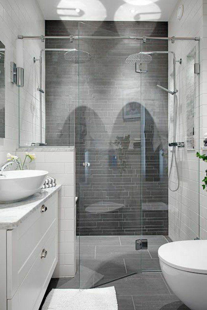 la salle de bain avec douche italienne 53 photos - Faire Une Salle De Bain