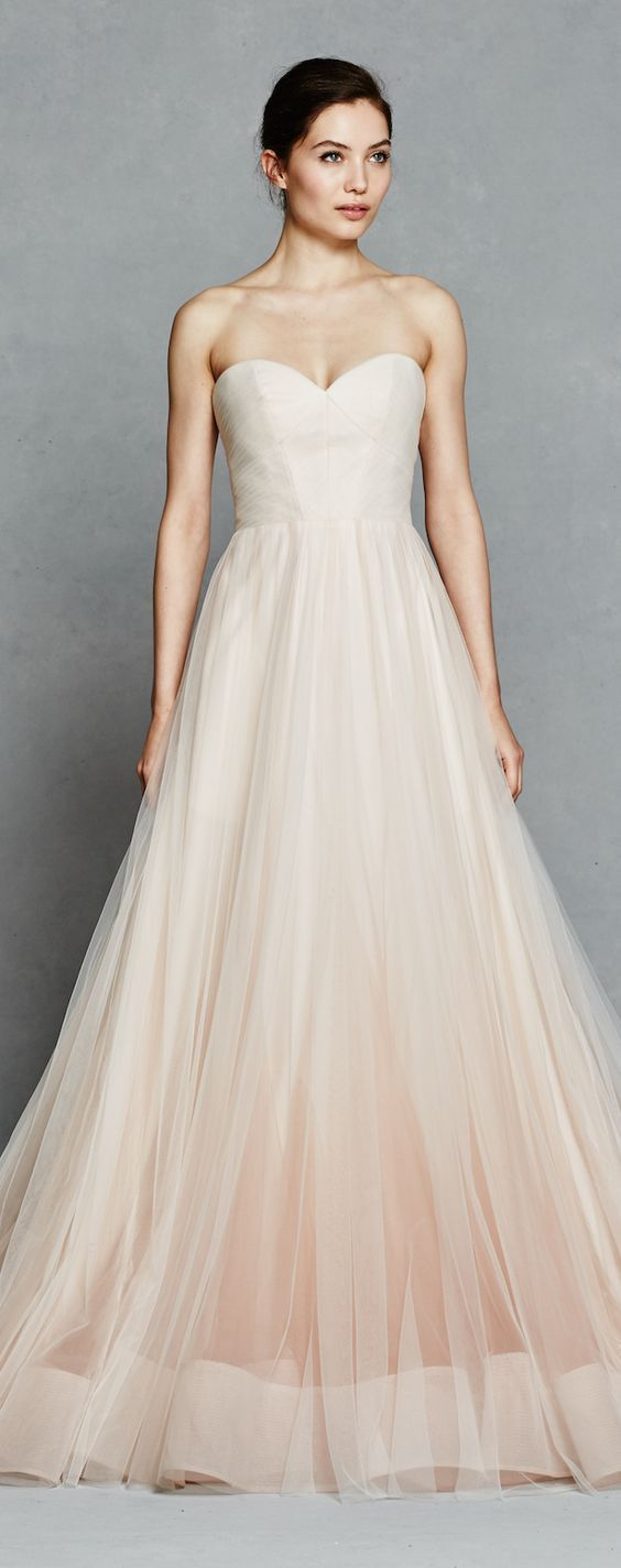 Wedding dress idea; Featured Dress: Kelly Faetanini