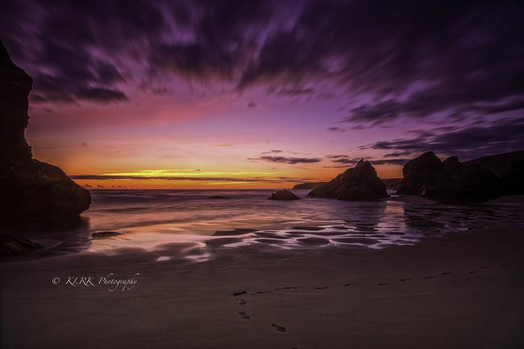 Bedruthan Sky on fire.... by Kevin Ainslie on 500px