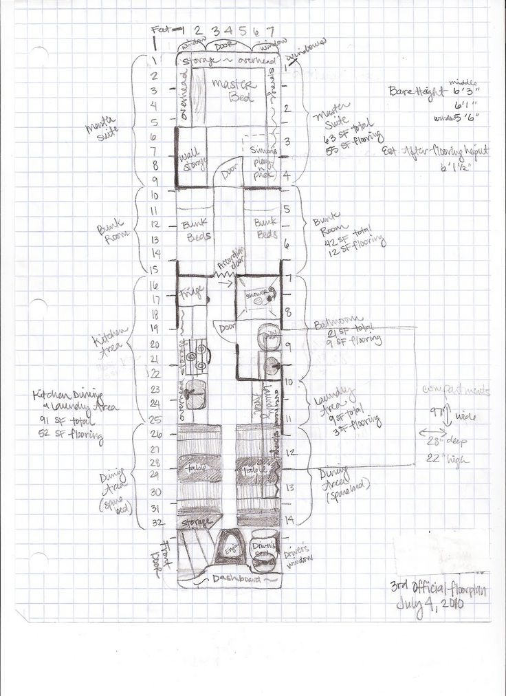 Travel Trailer Floor Plans on diy tiny house rv plans